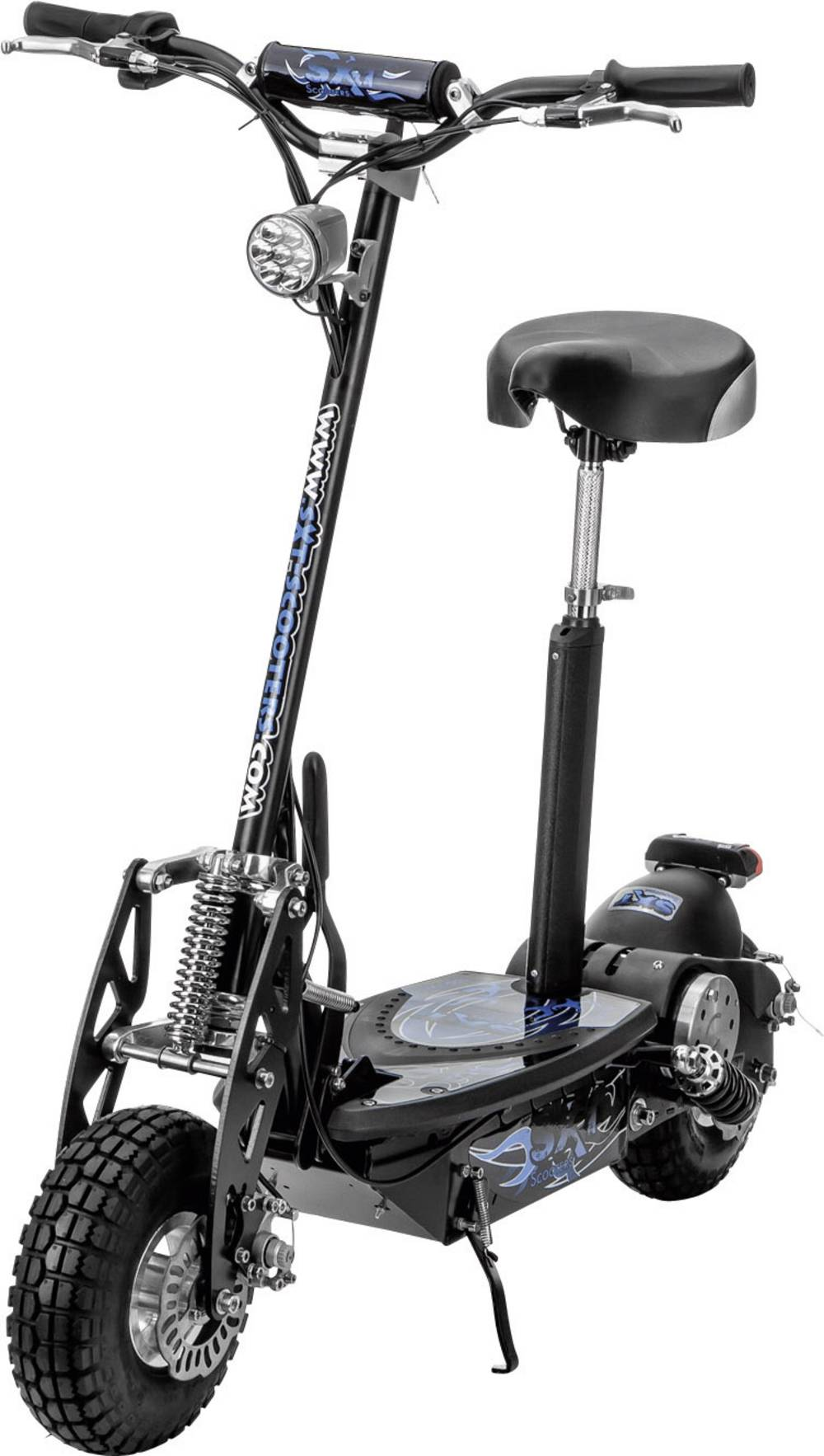 sxt scooters e scooter esc1000 1 turbo schwarz blei 36 v. Black Bedroom Furniture Sets. Home Design Ideas